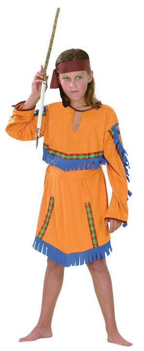 Childs Indian Girls Costume Thumbnail 2