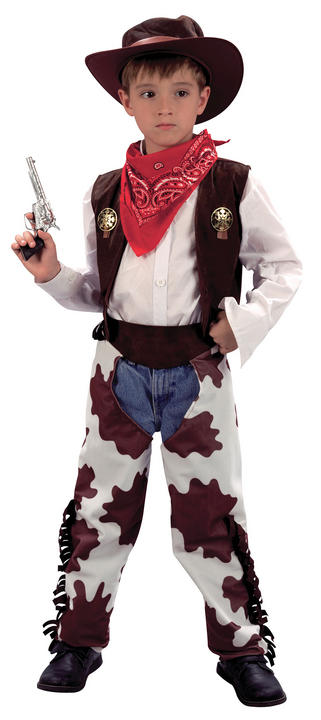Childs Cowboy Costume Thumbnail 1