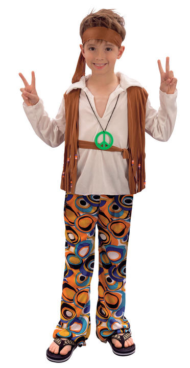 Hippy Boy Costume Thumbnail 1