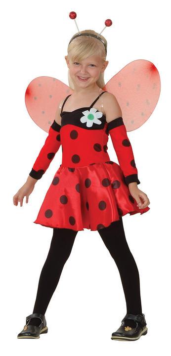 Childs Ladybug Costume Thumbnail 1
