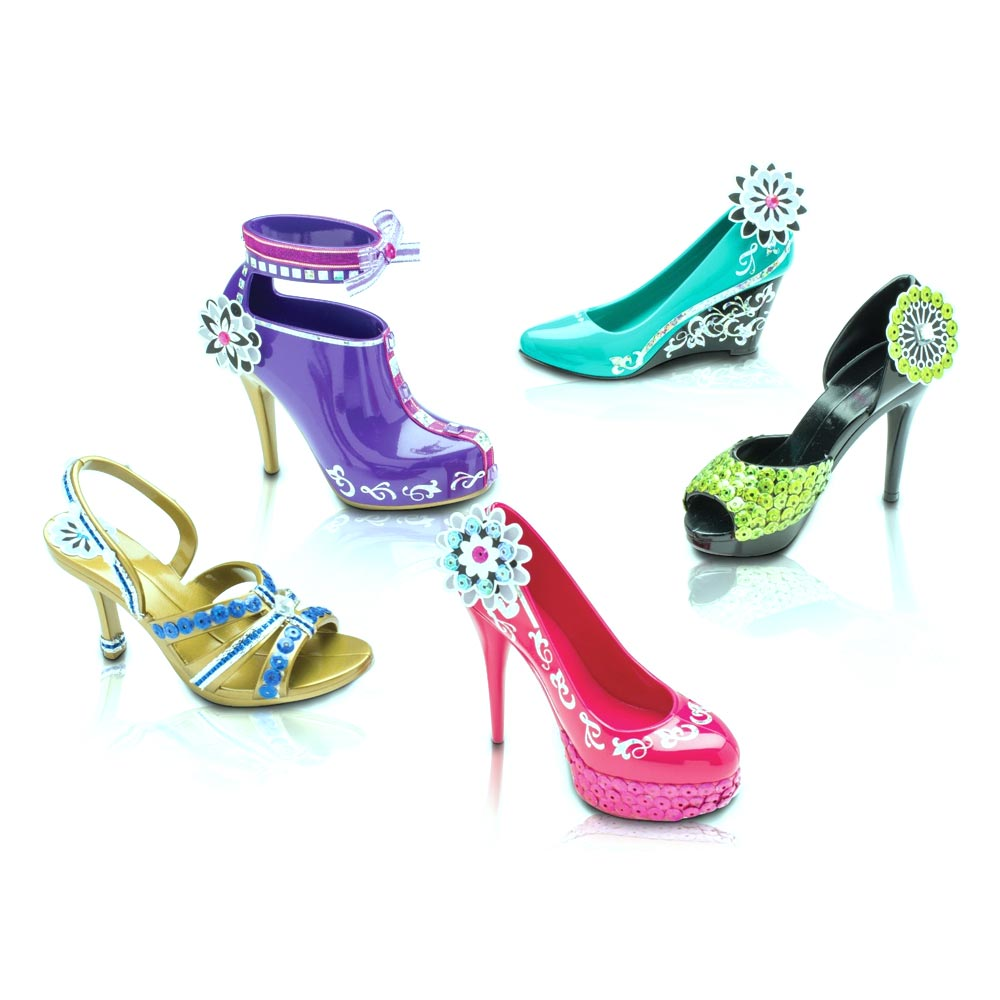 Hot Heels Five Pack