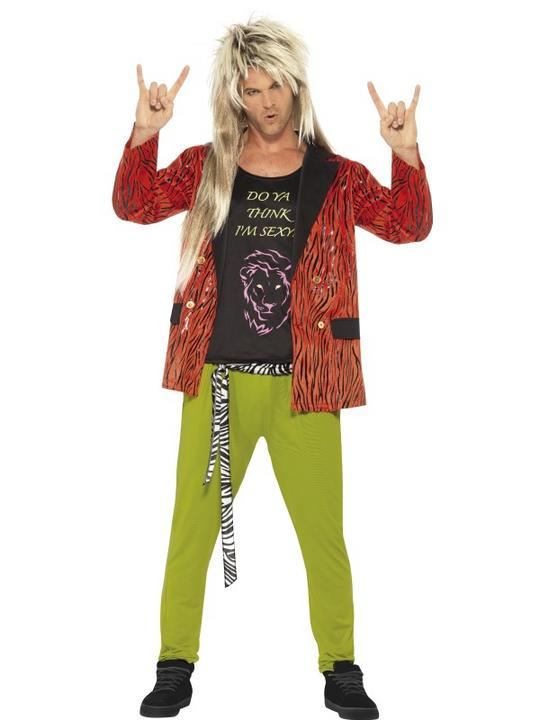 80's Rock Star Costume Thumbnail 1