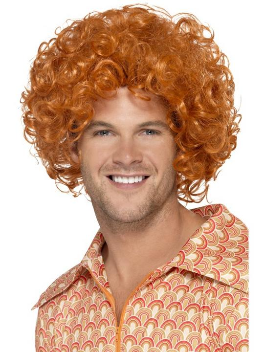 Ginger Curly Afro Wig Thumbnail 1