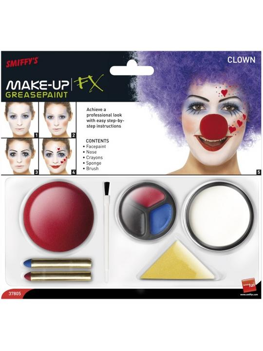 Clown Make Up Kit Thumbnail 4