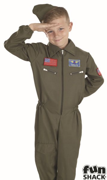 Air Cadet Boy  Fancy Dress Costume