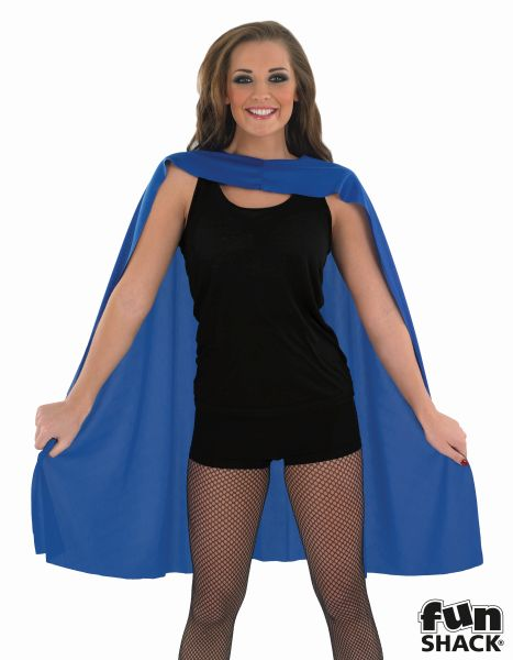 Blue Superhero Cape