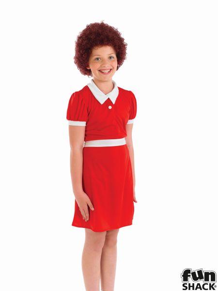 Little Orphan Girl Fancy Dress Costume