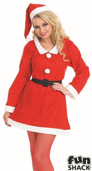Santas Sweetie Fancy Dress Costume