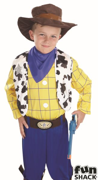 The Cowboy Kid Fancy Dress Costume
