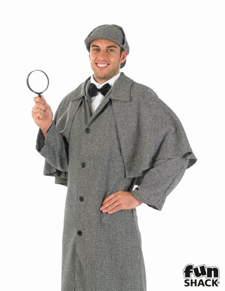 Victorian Detective Fancy Dress Costume Thumbnail 1