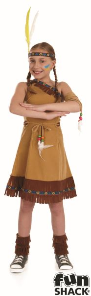 Indian Girl Fancy Dress Costume Thumbnail 2