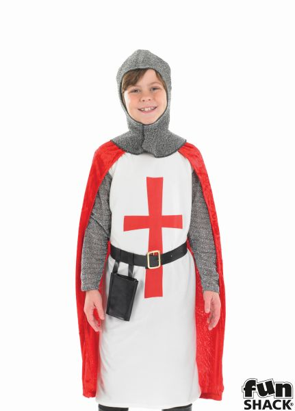 Crusader Knight Fancy Dress Costume Thumbnail 1
