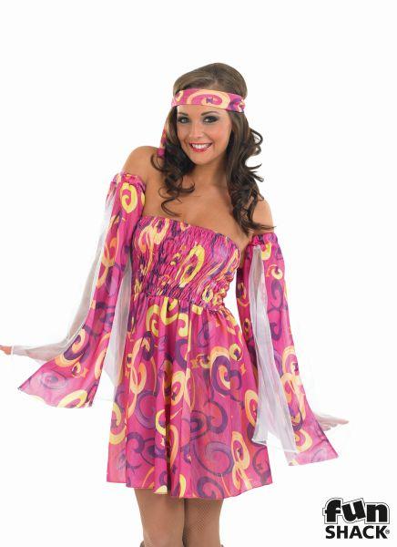 Swirl Dress Fancy Dress Costume Thumbnail 1