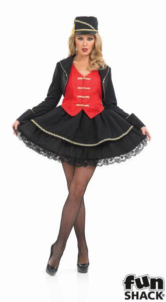 Drum Majorette Fancy Dress Costume Thumbnail 2