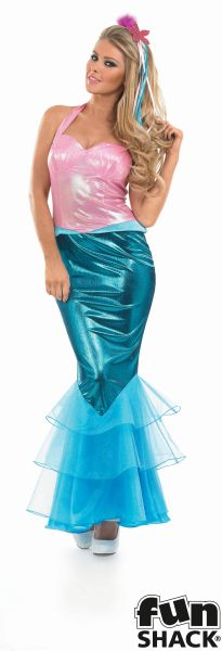 Mermaid Fancy Dress Costume Thumbnail 2