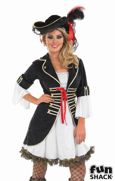 Buccaneer Girl Fancy Dress Costume Thumbnail 1