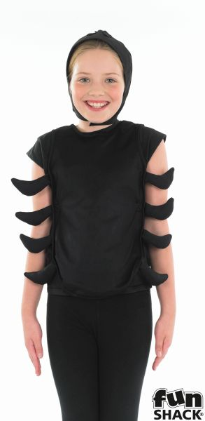 Kids Funny Spider Girls / Boys Book Week Halloween Fancy Dress Childs Costume Thumbnail 1