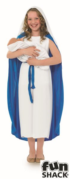 Childs Mary Fancy Dress Costume Thumbnail 2