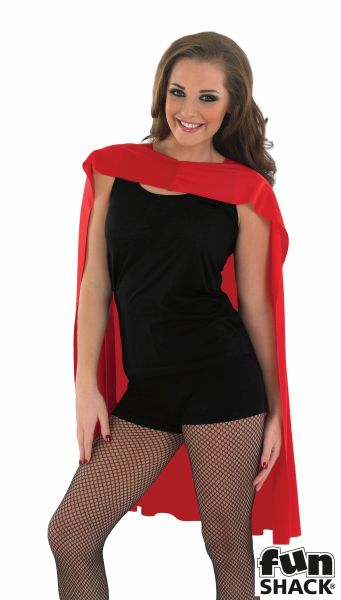 Red Superhero Cape  Thumbnail 1
