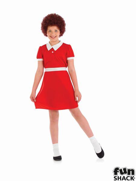 Little Orphan Girl Fancy Dress Costume Thumbnail 2