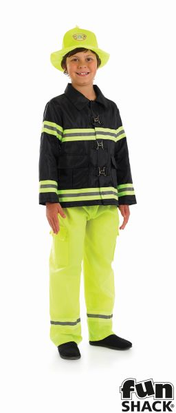 Fireman Boy Costume Thumbnail 2