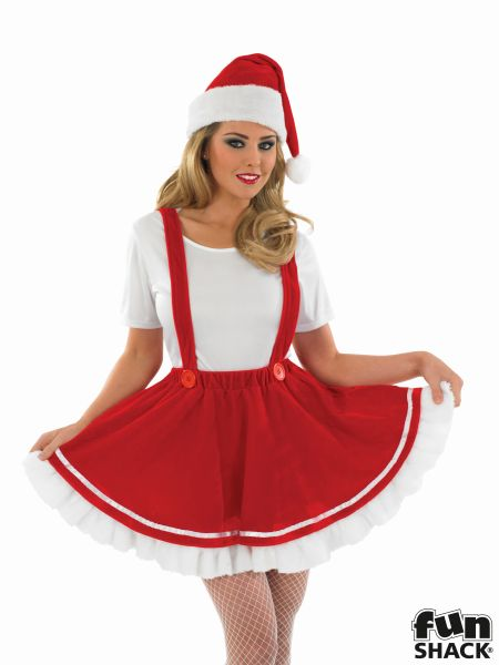 Christmas Elf Fancy Dress Costume Thumbnail 1