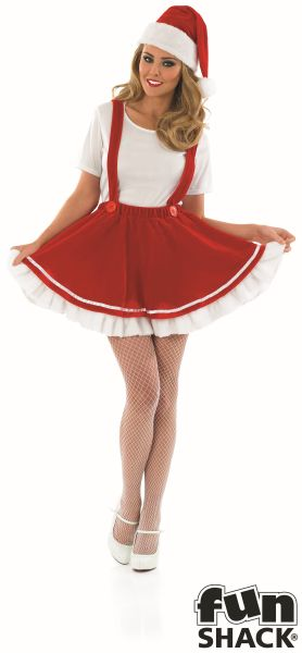 Christmas Elf Fancy Dress Costume Thumbnail 2