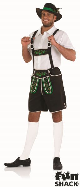 Bavarian Man Fancy Dress Costume Thumbnail 2