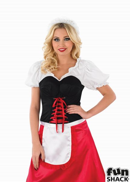Bavarian Lady Fancy Dress Costume Thumbnail 1