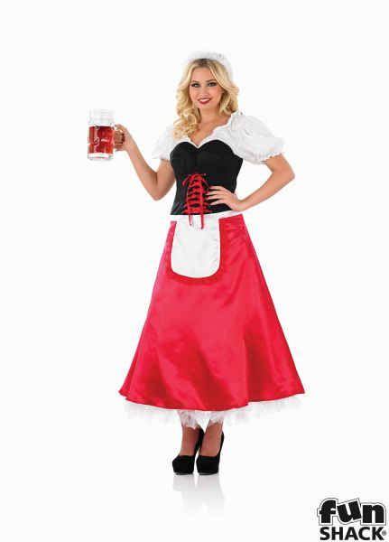 Bavarian Lady Fancy Dress Costume Thumbnail 2