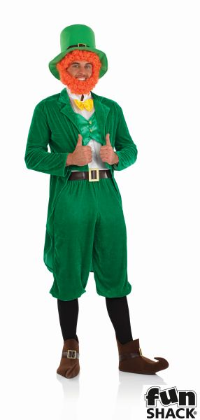 Leprechaun Fancy Dress Costume Thumbnail 2