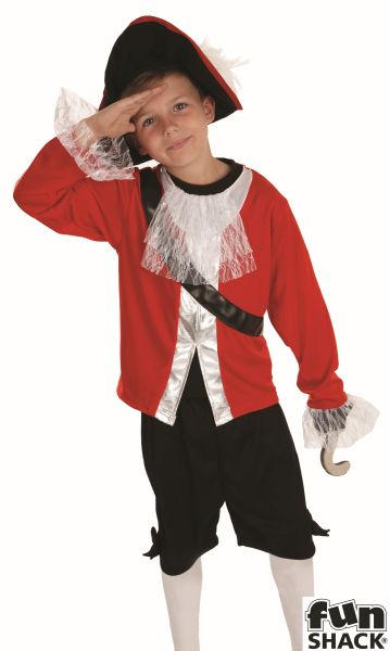 Pirate Captain Fancy Dress Costume Thumbnail 1