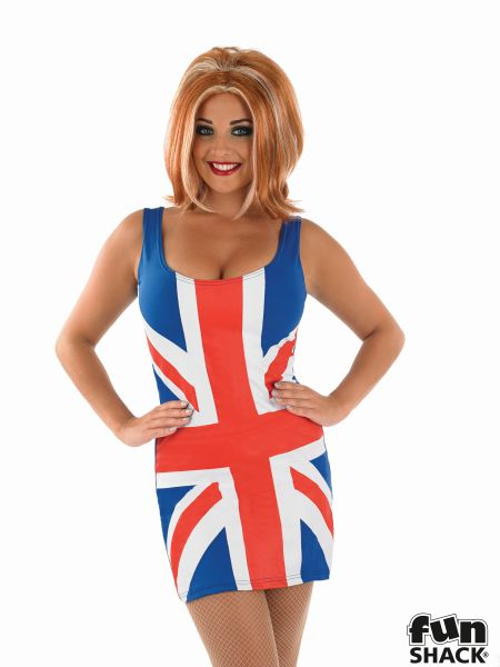 Union Jack Fancy Dress Costume Thumbnail 1