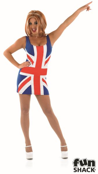 Union Jack Fancy Dress Costume Thumbnail 2