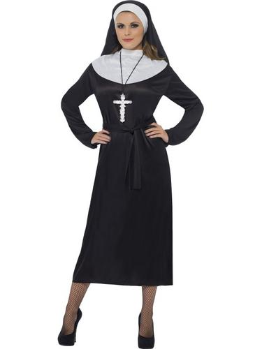 Nun Fancy Dress Costume Thumbnail 1