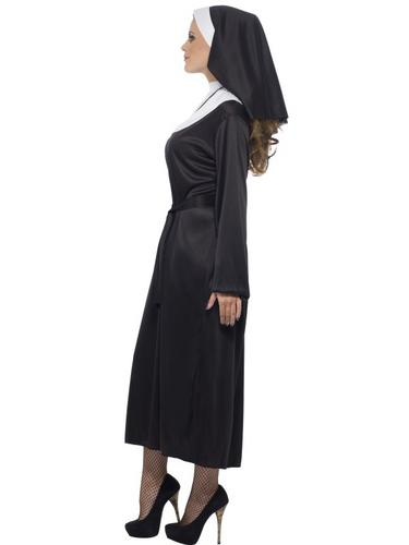 Nun Fancy Dress Costume Thumbnail 3