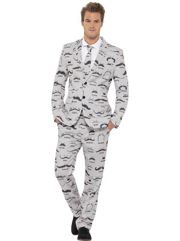 Adult Moustache Stand out Suit
