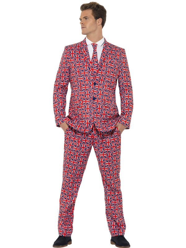 Adult Union Jack Stand Out Suit