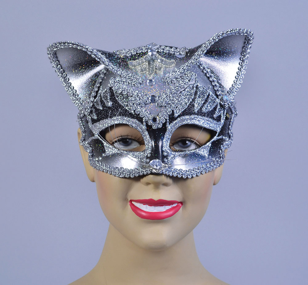 Jewelled Cat Mask