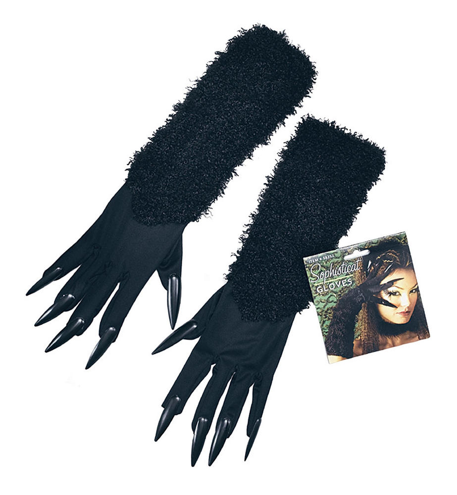 Cat Gloves With Claws