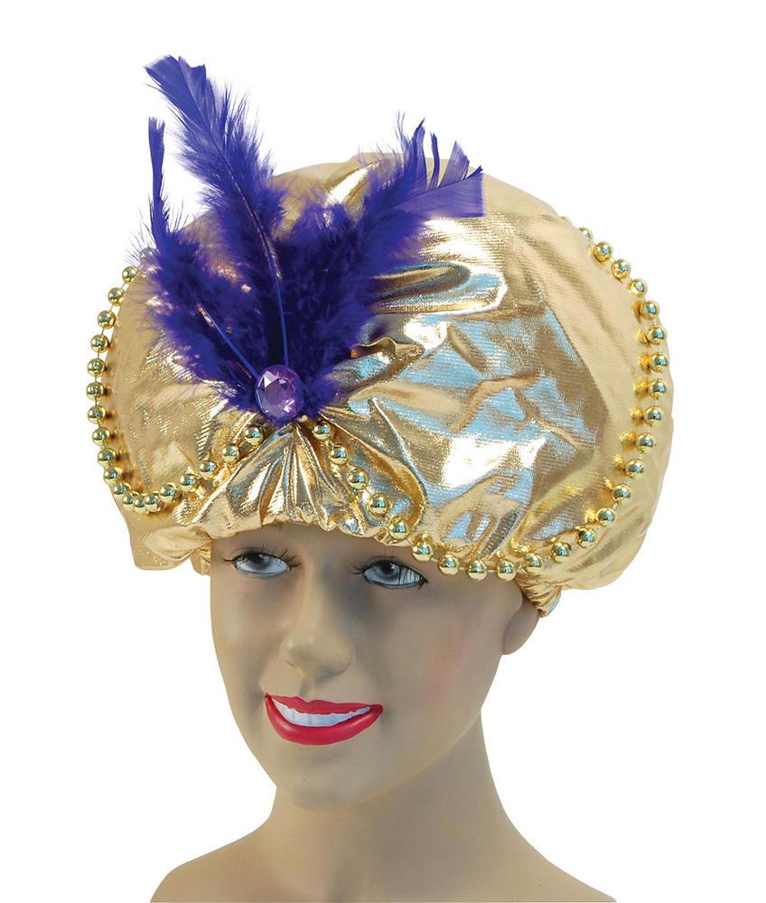 Arabian Hat. Beads + Jewels