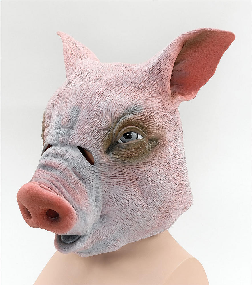 Pig Rubber Overhead Mask