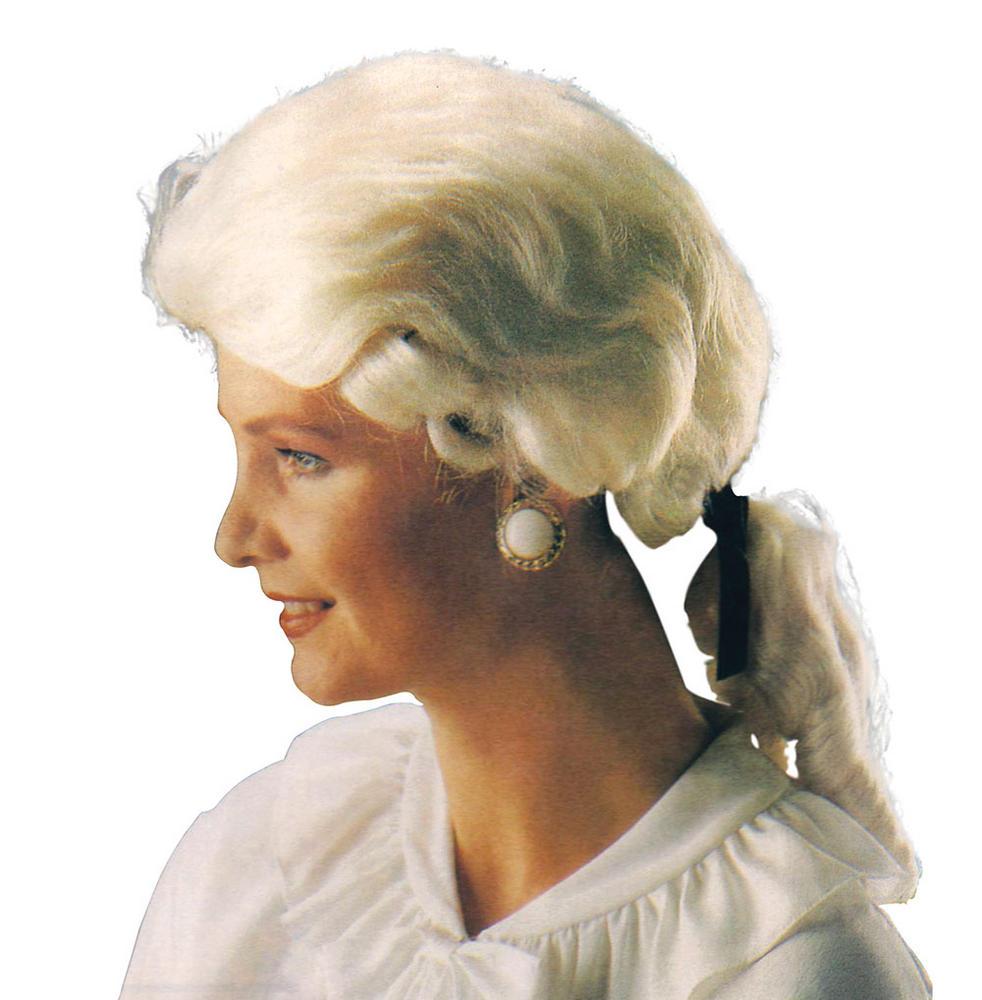 Gents Court Wig. White. Best