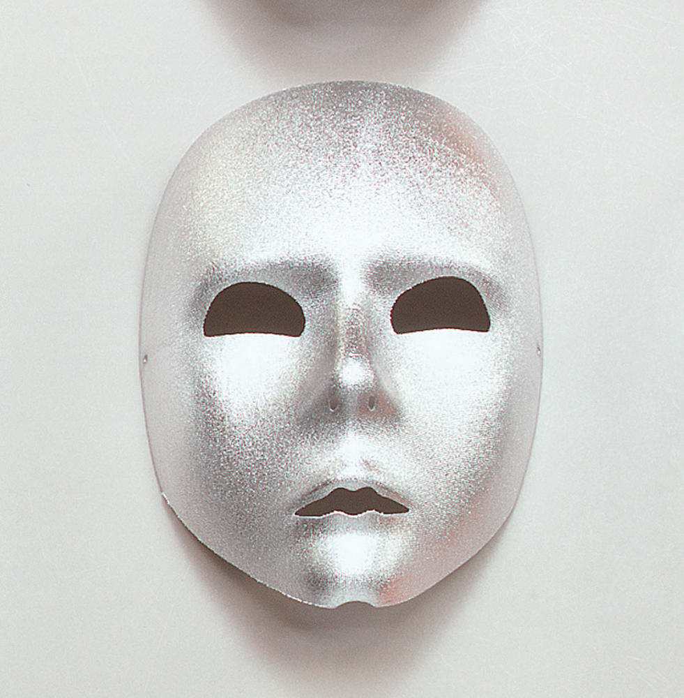 Silver Face Mask