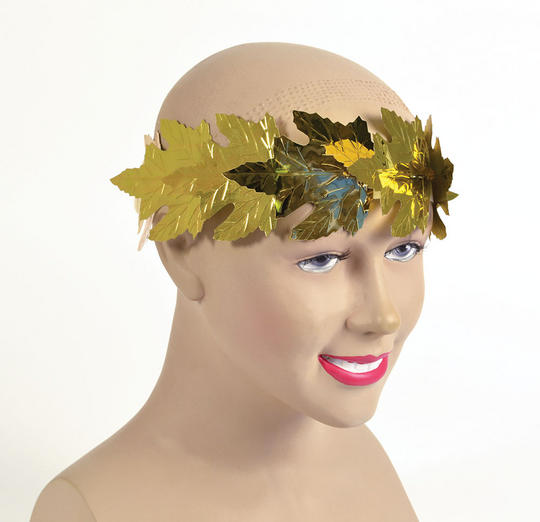 Roman Laurels Gold Leaf Headdress Thumbnail 1