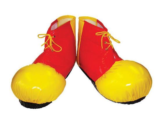 Clown Shoe Covers. Adult Thumbnail 1