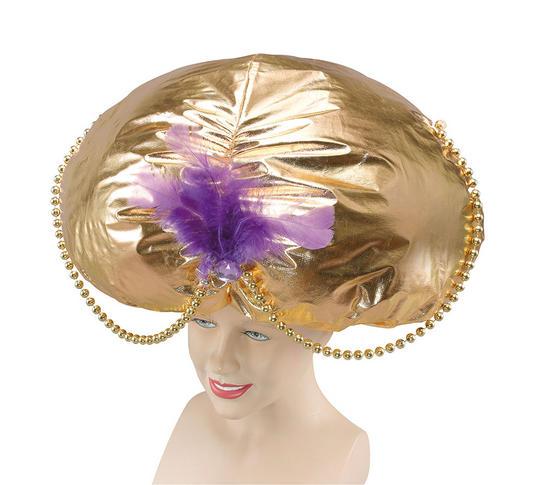 Jumbo Aladdin Hat. Gold Thumbnail 1
