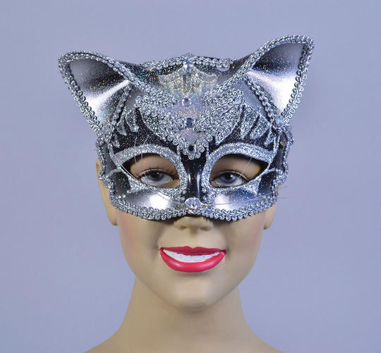Jewelled Cat Mask Thumbnail 1