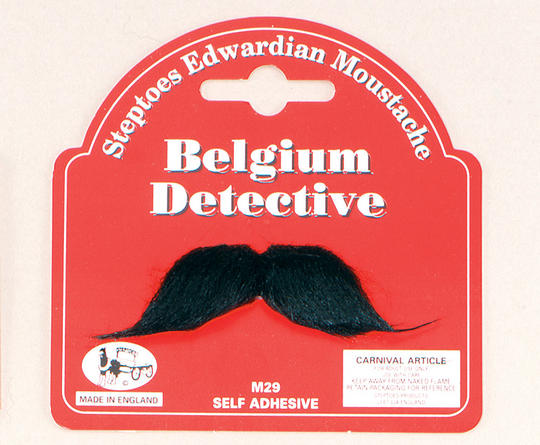 Belgium Detective Moustache Thumbnail 1