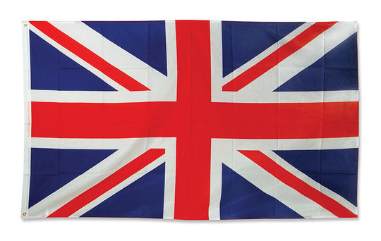 Union Jack Flag. 3 x 5 Cloth. Thumbnail 1